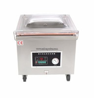 DZ-450 aluminum foil automatic french fries vacuum packing machine