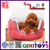 China supplier custom made soft plush decorative cute dog kennel for sale with high quality production