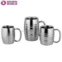 Promotional Bar Drinkware Unbreakable Stainless Steel Beer Mug