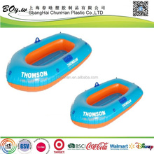 factory wholesales eco-friendly lake floating air raft dinghy thick pvc china inflatable boat