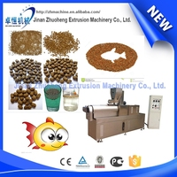 High Efficient Twin Screw Extruded Sinking Fish Feed Extruder