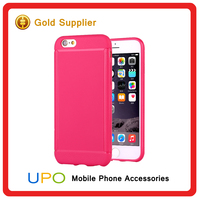 [UPO] Ultra Thin Pudding Color TPU Mobile Phone Protective Case for iPhone 6s