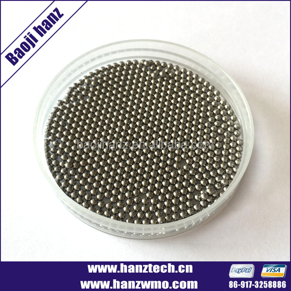 2.0mm 2.75mm 3mm polished Tungsten Heavy Alloy Hunting Shot