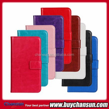 wallet stand leather case for Samsung Galaxy Trend Lite S7390