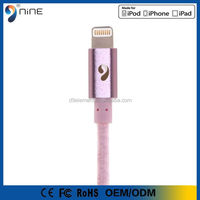 smartphone accessories for Apple MFI authorized Manufacturer 1.2 meter length USB cable,for iphone 6plus