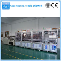 automatic tubes filling capping labeling machine