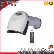 RD-1908 Handheld 120 times/sec Manual/Automatic Reader Bar Codewireless mini pen laser barcode scanner