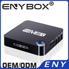 EM95X Aml S905X 2K4K Output Android 6.0 Android TV Box 4K Full HD Media Player 1080P