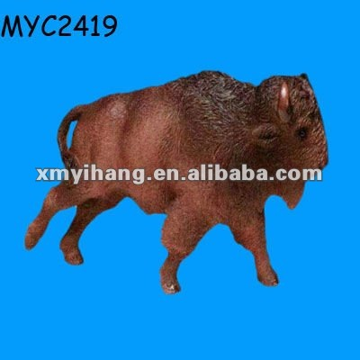 Large garden decoration buffalo carving
