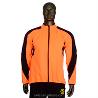 cheap latest design orange bicycle tracksuit for men