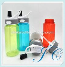 tritan sport bottle with Silicone Mouth/handle/logo brand customized private lable