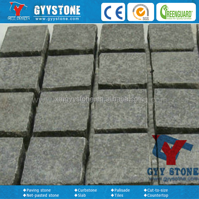 Nature granite paving blocks