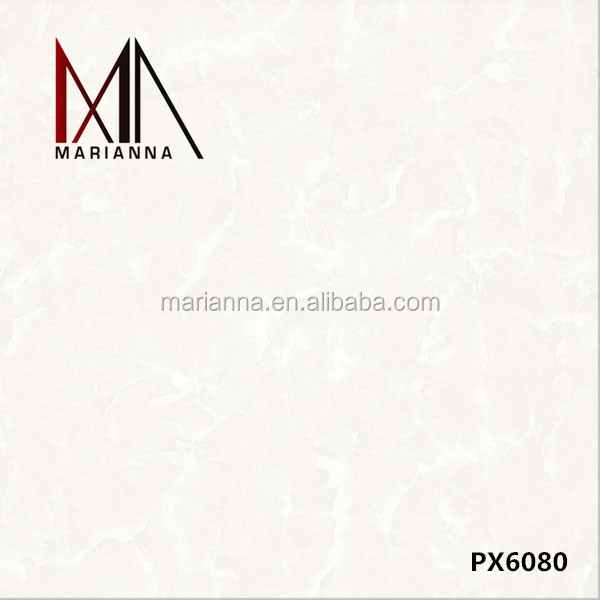 high-class products ceramic floor tiles PX6080 white pocerlain tiles on sale