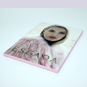 Cheap video postcard 4.3 inch advertising paper gift card java video player for mobile phones