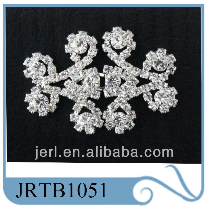 China Manufacturer flower rhinestone pair button buckle for belts