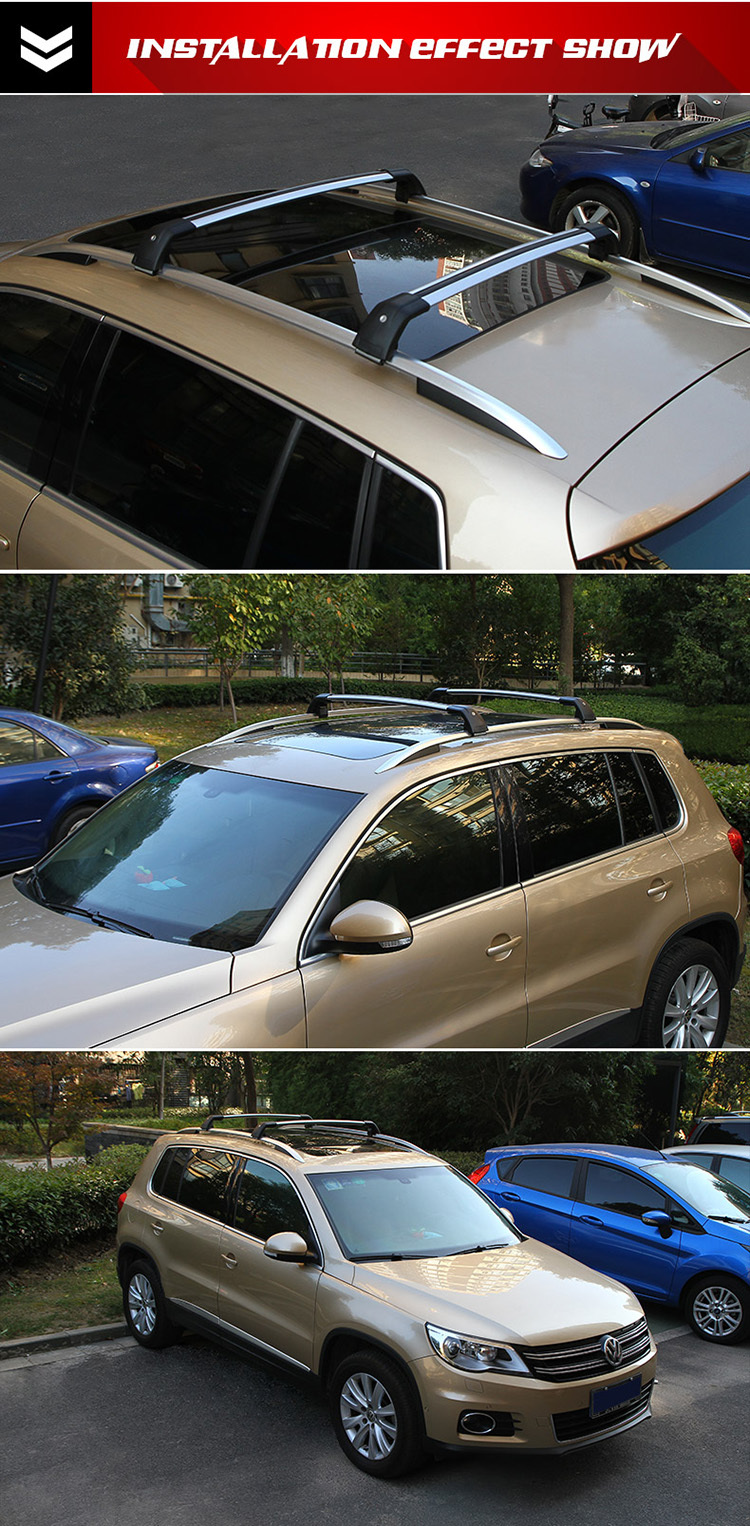 High Quality Aluminum car cross bars roof rack Auto Parts for Mitsubishi ASX