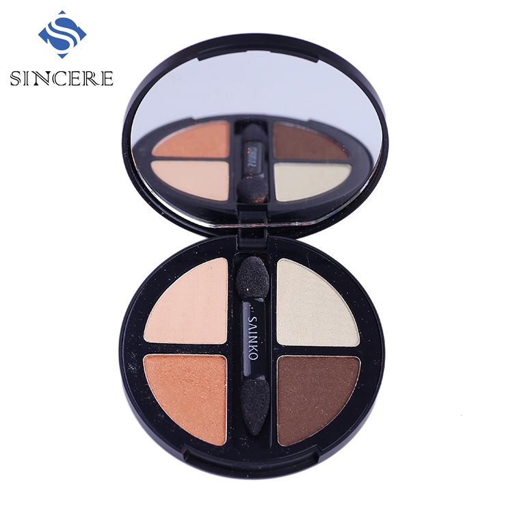 OEM Golden brown multi colored eye shadow with earth color