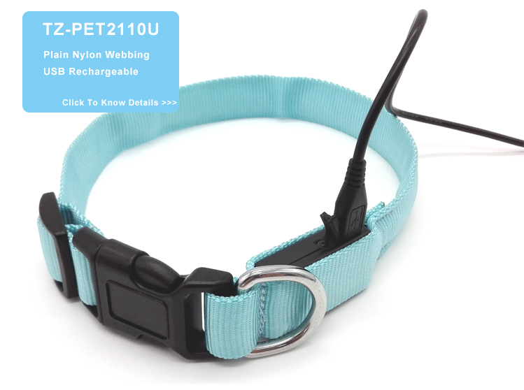 Hot Selling Pet Collars and Leashes Rechargeable Water Resistant Dog Leash
