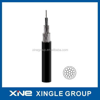 Aerial Bounded Cable ABC Copper/ Aluminium Conductor PVC/PE/XLPE/HDPE Insulated Cable