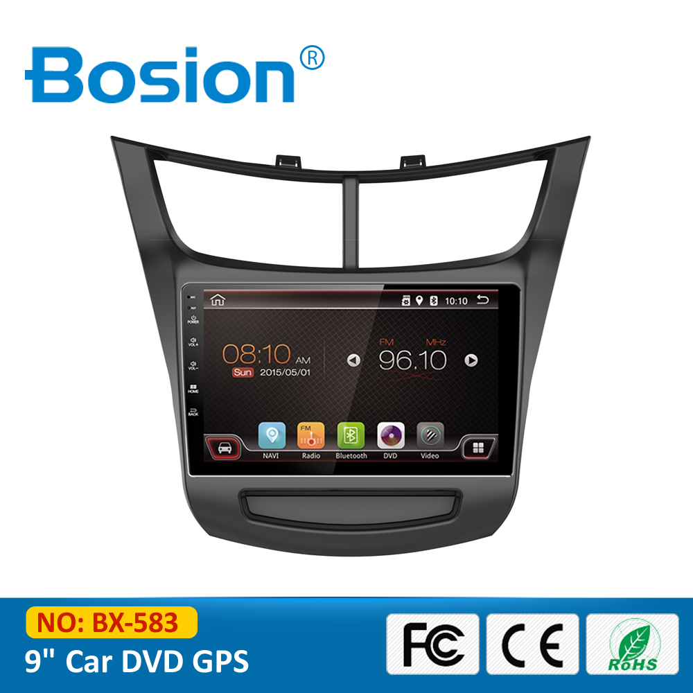 "9"" Android 4.4 Quad Core Audio Chevrolet Sail Car Radio with GPS 3G Wifi BT OBD RDS Rear Camera"