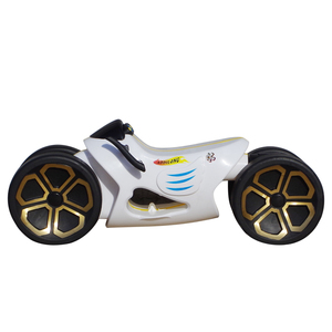 Battery power 2 wheels swing ride on balance kids car