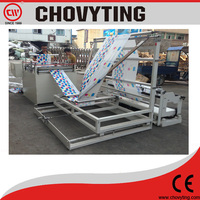 CP-1200FD plastic film folding machine and rewinding machine