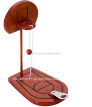 Hot selling Mini wooden table basketball game set