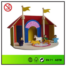 Wooden Kids educational circus toys
