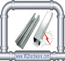 hot dip galvanized class 4 steel unistrut channel 41x41 in hangzhou