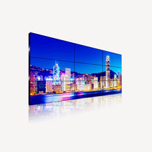 new arrival FCC Toughened Glass Panel DVI tv lcd video wall