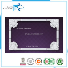 Smooth Surface Handcraft PU Moulding for Ceiling Design