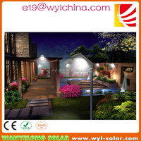 2016 hot sale all in one 9W 9V led solar light,wall and pole mounted up down light wall outdoor for home garden lighting