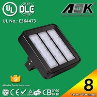 8years Warranty UL/DLC Listed 150W 200W Outdoor Wall Pack Exterior Parking Lot Light Fixtures LED Tunnel Flood Light