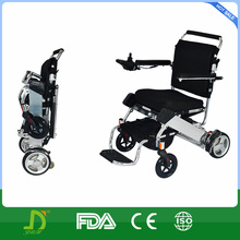 lightweight foldable power wheelchair with lithium battery factory