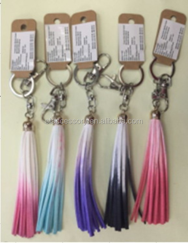 New arrival fashion leather tassels for handbag, shoe. zipper leather tassel, tassel fringe