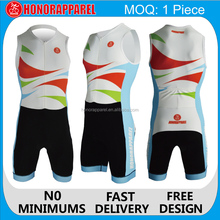 China manufacturer triathlon / professional Skin suit Women tri suit clothing with high quality