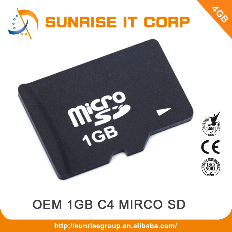 OEM taiwan manufacturer supply cheap 1gb memory sd micro card