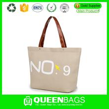 durable canvas leather bag