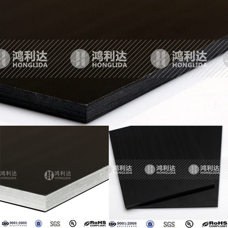 Black glassfiber plate closed cell packing foam anti static sheet
