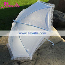 A0202 White Lace Umbrella for Party Decoration