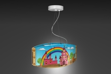 """Castle"" Children's ceiling light/ Nursery/ ceiling lamp modern"