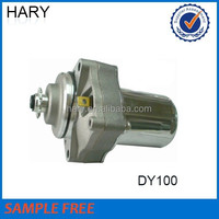 High quality motorcycle starter motor for DY100
