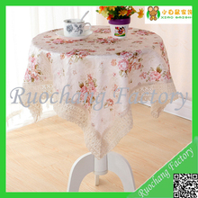 Wholesale Cheaper price table cloth hotel usage triangle table cloth