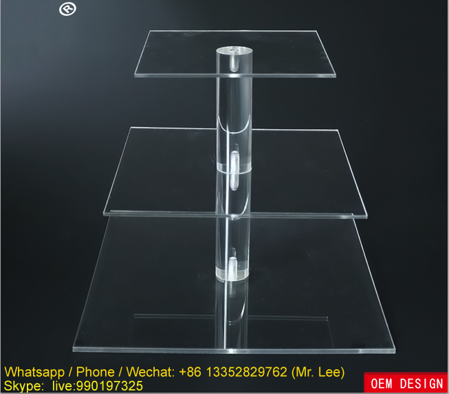 Clear acrylic display cabinet / perspex stand manufacturer