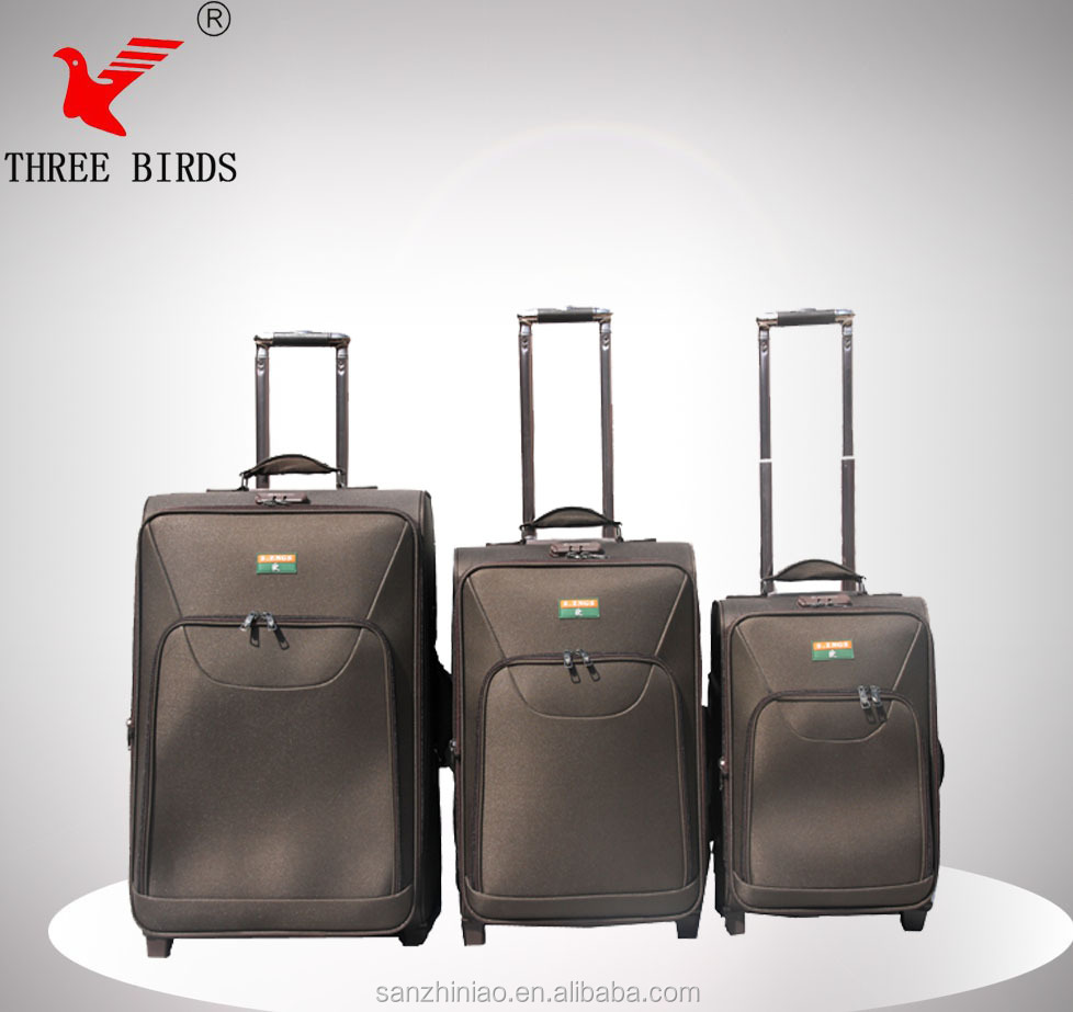 2014 New design hot sale travel luggage set from COQBV Baigou Market,cheap designer luggage sets