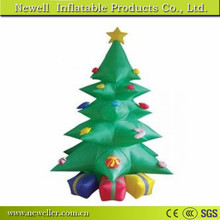 Customized Size inflatable christmas tree for indoor decoration