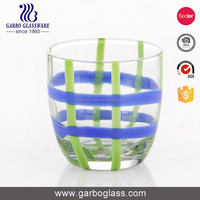 Candy colors glass tumbler funny glassware beautiful giftware
