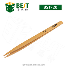 Pointed tip and 140mm whole length Bamboo tweezer