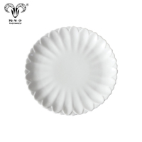 Custom Design Kitchen Wedding Round Steak Ceramic Plate
