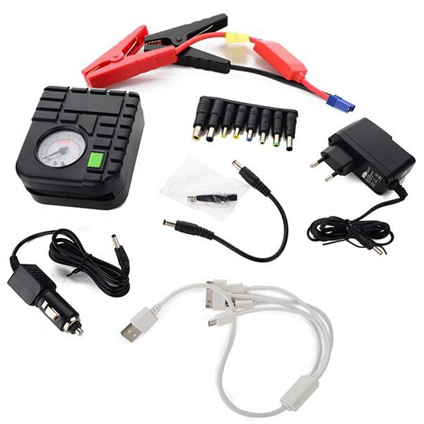 13600mA high quality mini car jump starter and air pump